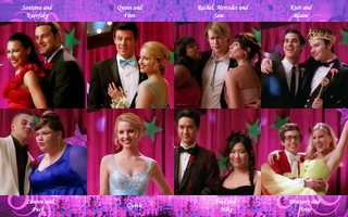 Glee Prom Couples